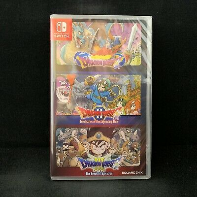 Dragon Quest 1 2 3(I+II+III) Collection (Switch) English Sub / English Cover