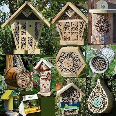 Insect Hotel, Bug House, Bee Box, Ladybird, Butterfly,Habitat