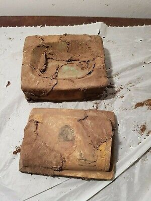 Rare Antique Ancient Egyptian jewelry Box Scarab Good Luck jewelry 1750-1670BC
