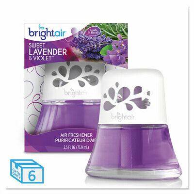 Scented Oil Air Freshener Sweet Lavender And Violet, 2.5 Oz, 6/Carton