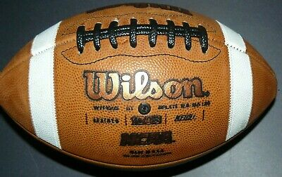 NEW Wilson 1003 GST NFHS NCAA OHSAA Official Leather Game Football Ohio State