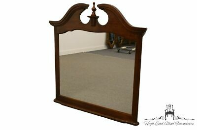 """High End Traditional Style Cherry 48x49"""" Landscape Pediment Mirror 880-21"""