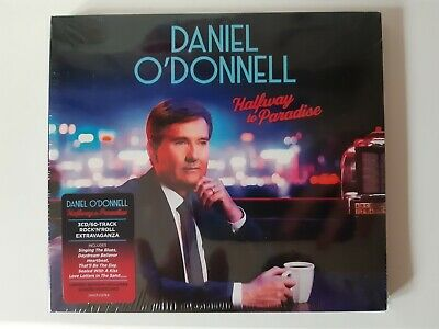DANIEL O'DONNELL HAND SIGNED AUTOGRAPH HALFWAY TO PARADISE CD x3 CARD SET 19 NEW