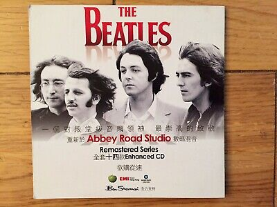 Beatles-Abbey Road Studio Remastered Series Foldout Cd Flyer Only