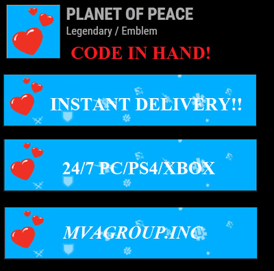 Destiny 2: Planet of Peace Emblem PS4/Xbox One/PC - Instant Delivery!
