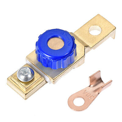 Side Post Car Battery Master Disconnect Switch Terminal Adapter 6mm Diameter