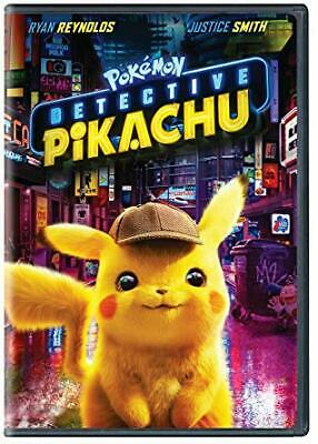 Pokemon Detective Pikachu (DVD) by Ryan Reynolds  Fantasy DVDs  Comedy NEW