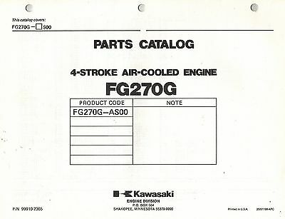 Kawasaki  Fg270G  Air Cooled  Engines  Parts  Manual