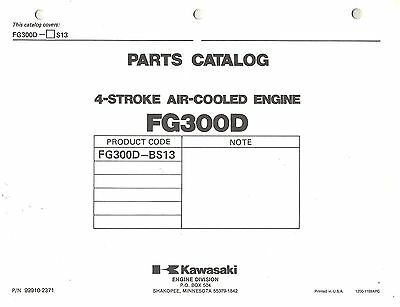 Kawasaki  Fg300D Air Cooled  Engines  Parts  Manual 13