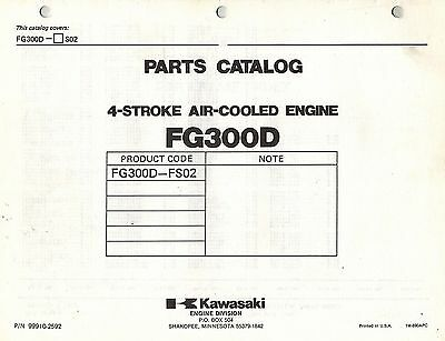 Kawasaki  Fg300D  Air Cooled  Engines  Parts  Manual 02
