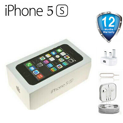 New Apple iPhone 5S 16G 32G 64G Factory Unlocked iOS Smartphone in Sealed Box