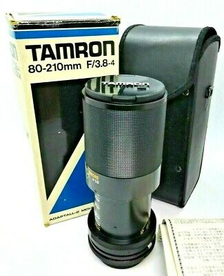 Tamron 80-210mm F/3.8-4.0 CF Tele-Macro Zoom MF Lens for Canon FD from Japan
