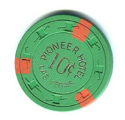 PIONEER HOTEL CASINO (LAS VEGAS) 10 CENT CHIP (AVG) (N3754) (TCR 19 RATED I).xls