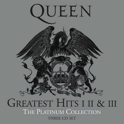 Queen : Greatest Hits I II & III: The Platinum Collection 3 cd NEW SEALED
