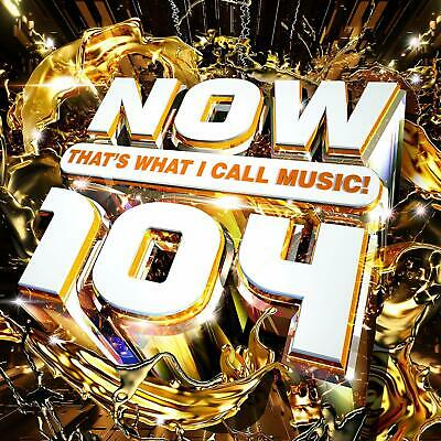 NOW Thats What I Call Music 104 Various Artists 2CD Double CD Album 47 tracks