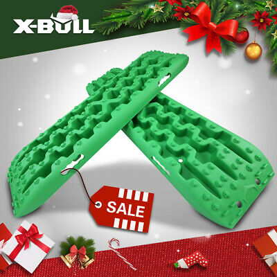 X-BULL 3.0 Recovery Tracks Mud/Snow/Sand With Carry Bag Offroad 4WD 2PC Orange