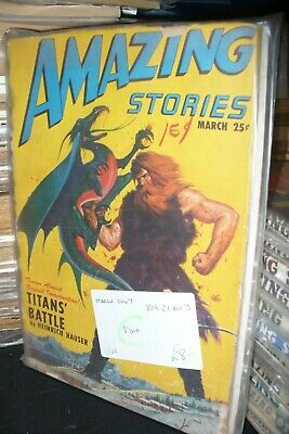 Amazing Stories Fiction Us Edition March, September 1947  [2 Issues]