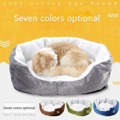 Small Pet Dog Cat Bed Puppy Cushion House Pet Warm Sale Hot Mat Dog Kennel X3F7