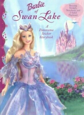 Barbie of Swan Lake: A Panorama Sticker Storybook (Pano... by Goldowsky, Jill L.