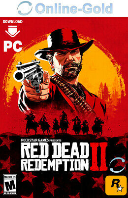 Red Dead Redemption 2 - PC Rockstar Games Key Digital Code Abenteuer - DE/Global