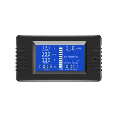 Multimeter 0-200V 0-10A Battery Tester Voltmeter Ammeter Power Voltage Current