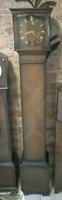 Fine Art Deco Smiths 8 Day English Westminster Chime Longcase Grandmother Clock