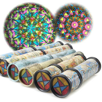 21CM Kaleidoscope Children Toys Kids Educational Science Toy Classic _CH