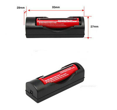 EU Universal Charger For 3.7V 18650 16340 14500 Li-ion Rechargeable Battery M_CH