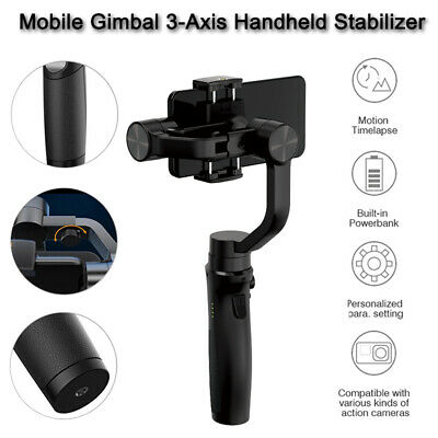Hohem iSteady 3Axis Mobile Gimbal Stabilizer Auto Tracking Steady for SmartPhone