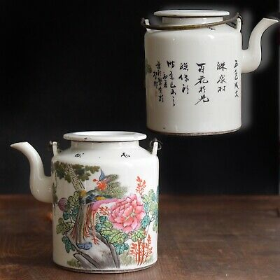 Antique Chinese Porcelain Teapot from early republic