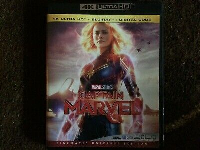 Captain Marvel 4K UHD Disc in case US IMPORT