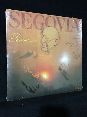 Segovia Reveries LP Record Album Vinyl NEW! In Plastic 🔥