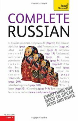 Teach Yourself Complete Russian: From Beginner to Intermediat... by West, Daphne