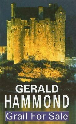 Grail for Sale (Severn House Large Print) by Hammond, Gerald Hardback Book The