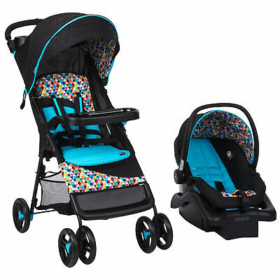 Babideal Lightweight Compact Baby Stroller & Infant Car Seat Seat, Pixelray