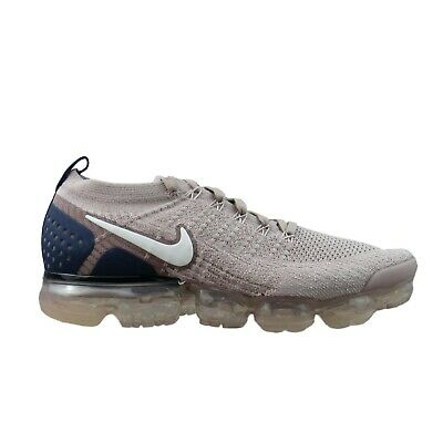 Nike Air VaporMax Flyknit 2 Running Shoes Size 10.5 Diffused Taupe 942842-201