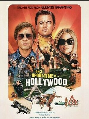 Once Upon A Time In Hollywood DVD Only 2019 Preorder Ships 12/10/19 No Case