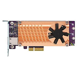 QM2-2P10G1TA QNAP PCIe M.2,RJ-45 Low-profile PCIe 2.0 NAS / Storage server