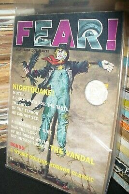 FEAR DIGEST MAGAZINE No.ONE MAY 1960 [1 ISSUES]