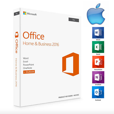 MICROSOFT Office 2016 Home and Business Product Key 🔐 Authentic License 🔐 Mac