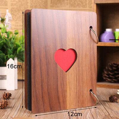 Photo Album 15Sheets 30Pages DIY Picture Storage Book Memory Holder Scrapbook US