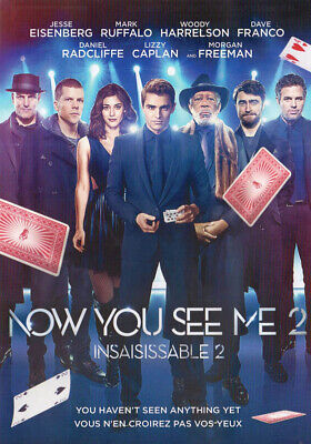 Now You See Me 2 (Bilingual) (Dvd)