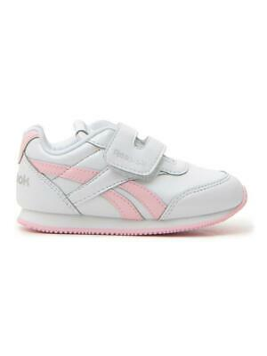 Reebok Royal Cljog 2 Kc Bambina  Bianco/rosa In Materiale Sintetico