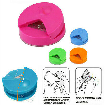 New Craft Paper Punch Card Scrapbooking R4 Corner Rounder Photo Cutter Tool AU