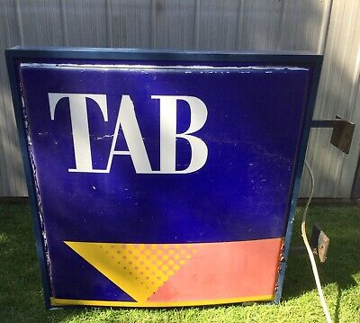 *RARE* TAB sign From The Isle of Wight Hotel Cowes