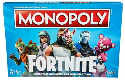 Monopoly: Fortnite Edition Board Game Perfect Family Party Game Gift New