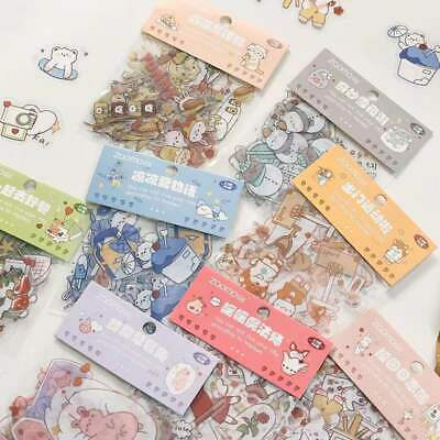 SALE!! Paper Stickers Decors Stationery Bullet Journal Japanese Style Gift Book