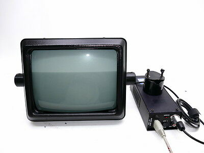 Bdl Autoscript WGS-12 +Power Supply Teleprompter Functional Good Condition I762
