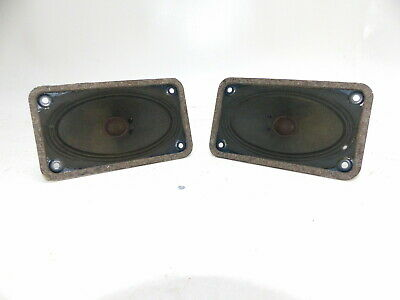 Vintage Speaker Dimensions D=13 B=7,5 T=5,5 cm in Top Condition I042