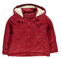 Crafted Boys Red Long Sleeve Hooded Full Zip Jacket Coat Juniors 3-4 Yrs *Ref119
